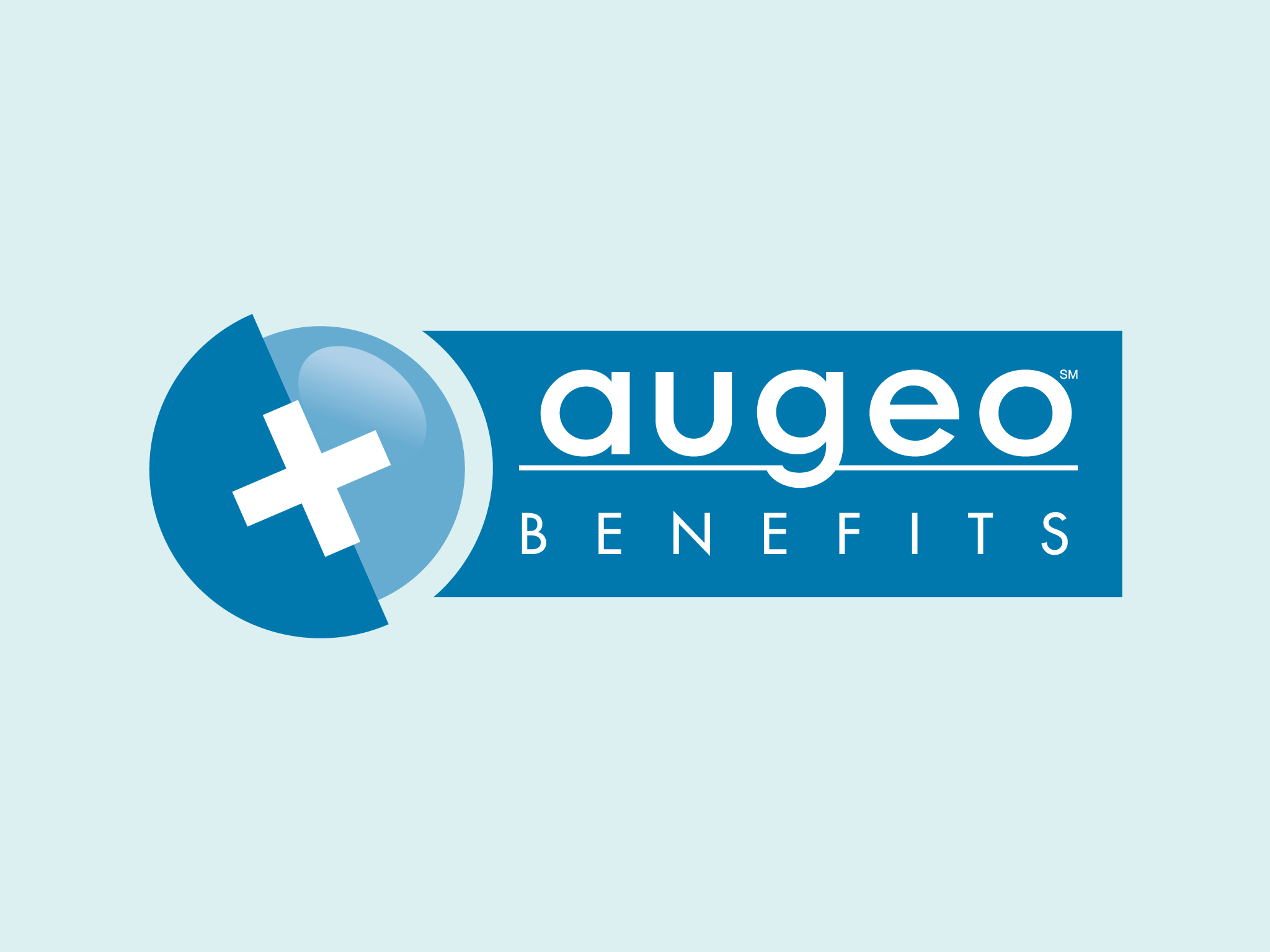 augeo benefits logo amp website schmitt creative