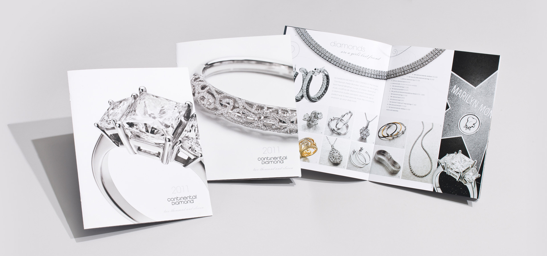 continental diamond catalog covers and spread
