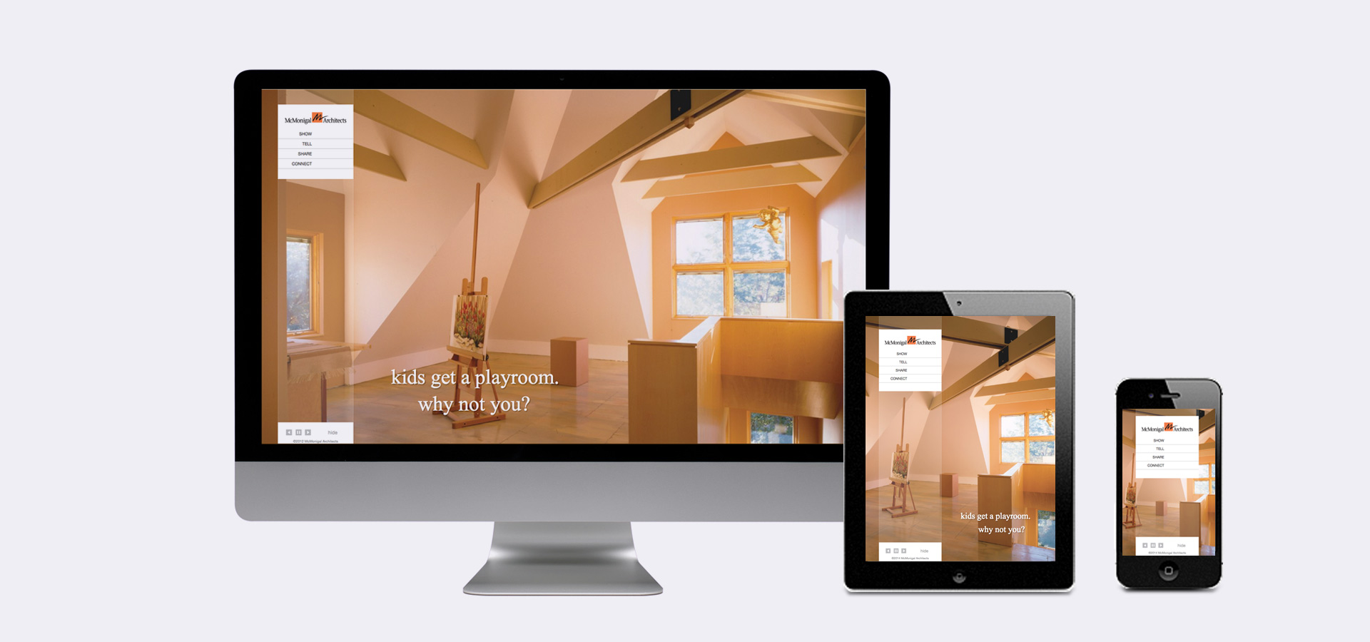 McMonigal Architects Responsive site