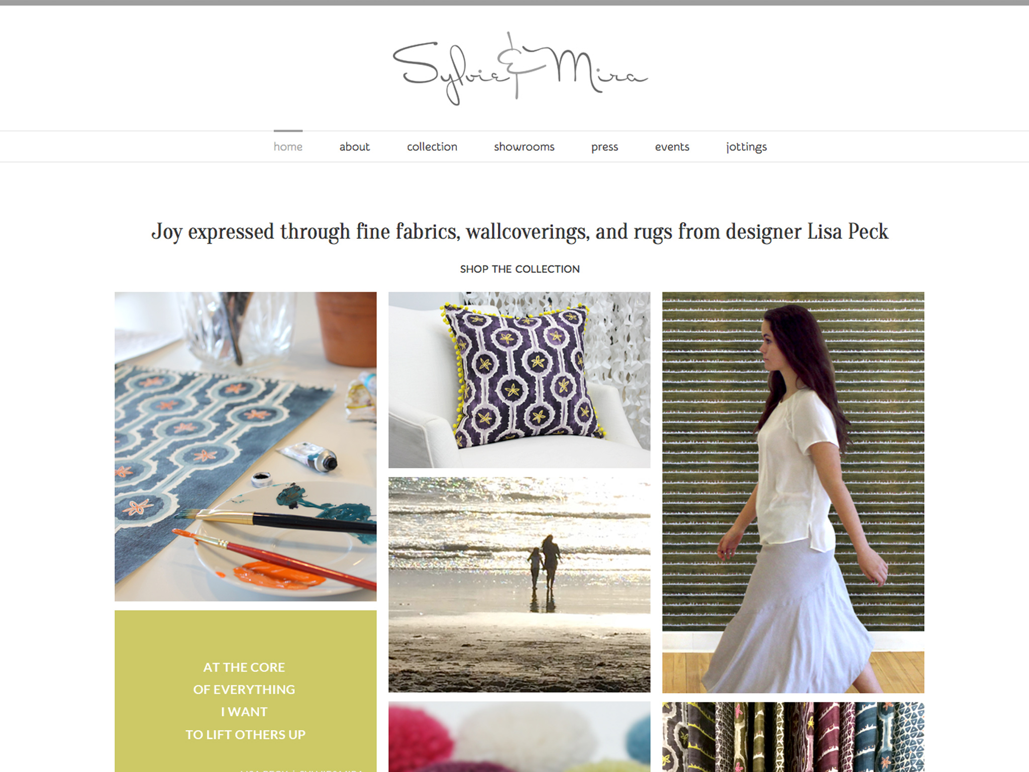 Sylvie&Mira Home Decor Website