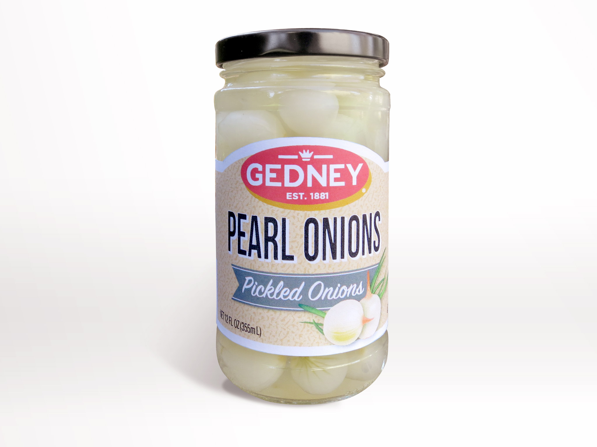 Gedney Foods Pearl Onions Packaging