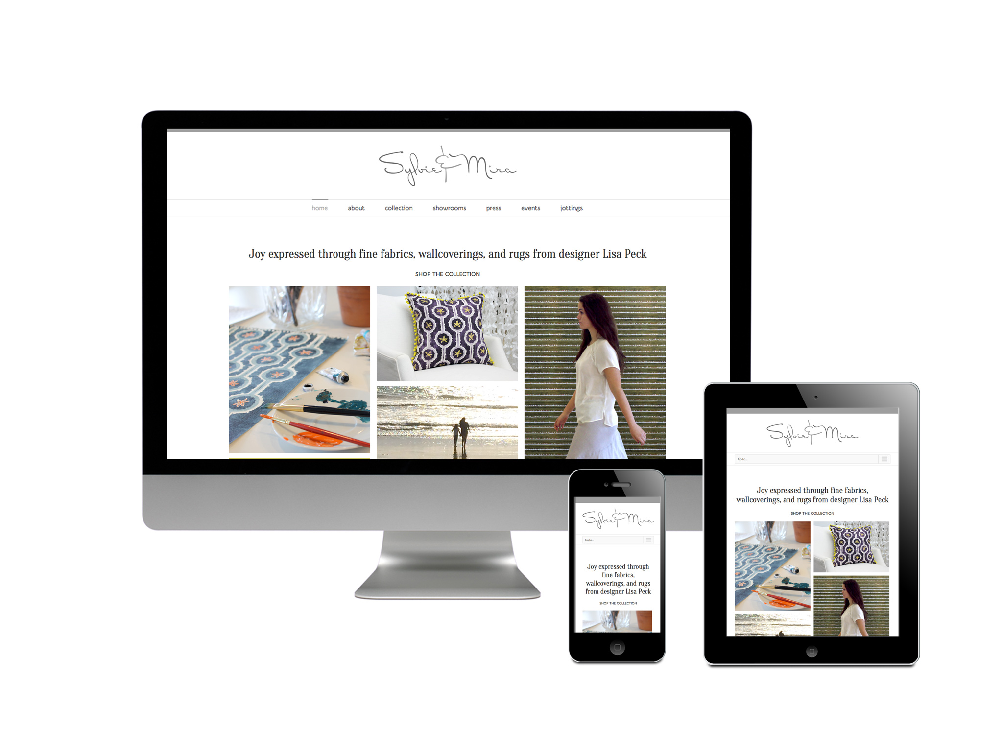 Sylvieu0026Mira Home Decor Website; Sylvieu0026Mira Responsive WordPress Website ...